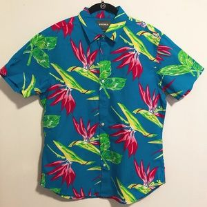 Bonobos Hawaiian Style Shirt
